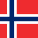 Vlag van Noorwegen 02-04-2015